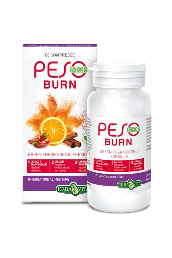 PESO BURN 80 COMPRESSE